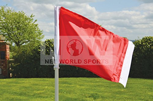 Net World Sports Fußball Eckfahne 25 mm (gefedert)