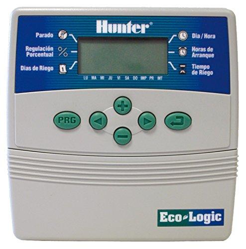 Hunter ECO6 Eco-Programmateur d'arrosage gris