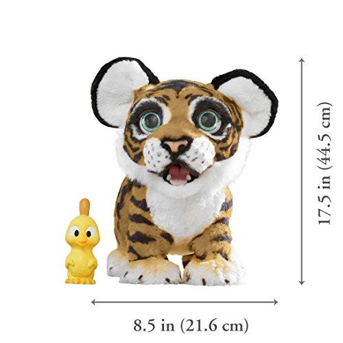 Hasbro FurReal Friends B9071100 Tyler, der Königstiger, elektronisches Haustier - 3