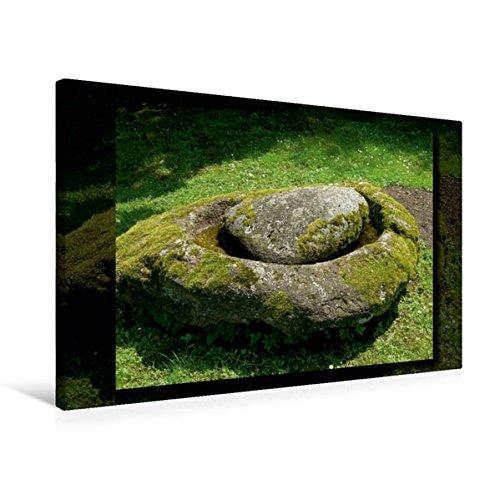 Calvendo Premium Textil-Leinwand 75 cm x 50 cm Quer, Steinformation | Wandbild, Bild auf Keilrahmen, Fertigbild auf Echter Leinwand, Leinwanddruck: Parkgeschichten Natur Natur