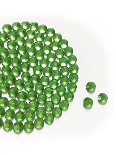 Diamante Me Péridot DMC Strass en verre (Hotifx/Iron on) Lot de 500 5mm
