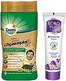 Best Antiseptic Creams - Zandu Sona Chandi Chyawanplus - 450 g Review