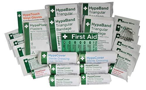 Safety First Aid R10S HSE Nachfüllset für Erste-Hilfe-Kasten für 1-10 Personen - First Bag Safety
