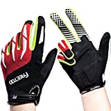 FREETOO Cycling Gloves Full Finger Cycling Gloves Riding...