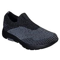 SKECHERS GO WALK 5 Mens Shoes, Multicolour (Charcoal), 9.5 UK (44 EU)