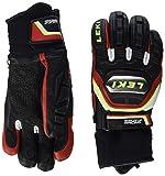 LEKI Handschuhe Worldcup Race Titanium S, Black-Red-White-Yellow, 9, 63480173090