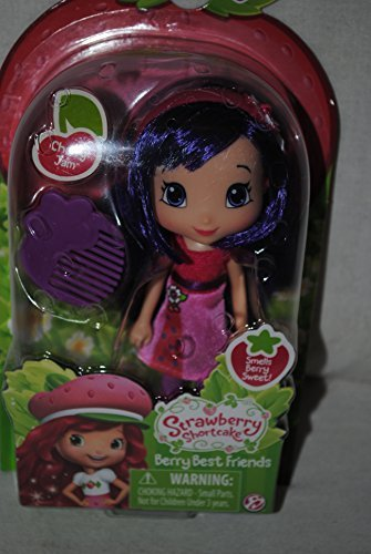 The Bridge Direct, Strawberry Shortcake, Berry Best Friends Doll, Cherry Jam, 6 Inches by Strawberry - Strawberry Jam Shortcake Und Cherry