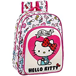 Hello Kitty 611816185 2018 Mochila Escolar, 34 cm, Rosa