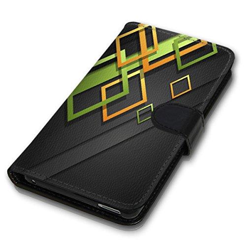 Wallet Book Style Flip Handy Tasche Case Schutz Hülle Schale Motiv Etui für Apple iPhone 5 / 5S - Variante UMV1 Design12 Design 4