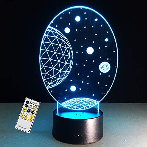 Cartón perro lindo lámpara 3D lámpara de mesa ilusión óptica noche dormitorio dormitorio humor lámpara amigo regalo de cumpleaños envío de la gota ## 10