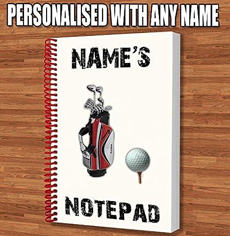 Thème de Golf personnalisée–Carnet