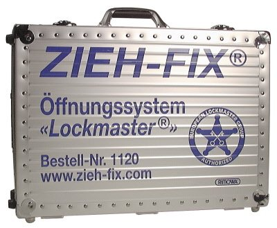 """ZIEH-FIX® Öffnungssystem """"Lockmaster®"""" - Komplettsortiment für Schlüsseldienste"""