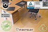 Transparente Bodenschutzmatte, 120 x 150 cm, Sonderform
