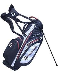 TaylorMade étanche de transport support Sac de golf 2017(Noir/blanc/rouge)