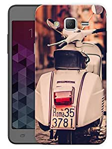 """Humor Gang Vintage Scooter Scenery Printed Designer Mobile Back Cover For """"Samsung Galaxy Grand 2"""" (3D, Matte Finish, Premium Quality, Protective Snap On Slim Hard Phone Case, Multi Color)"""