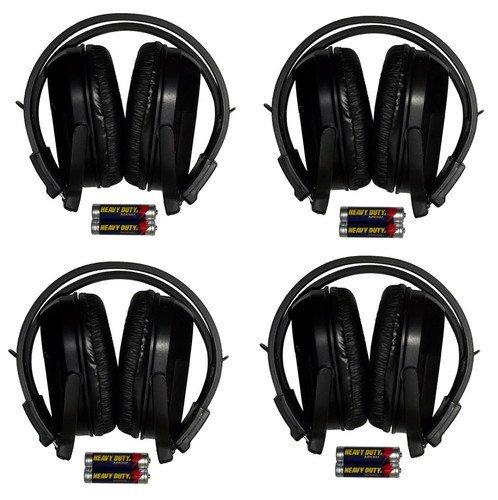 4-folding-2-channel-wireless-ir-headphones-headsets-chevy-tahoe-suburban-equinox-silverado-traverse-