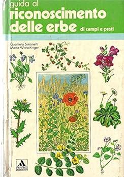 Guida al riconoscimento delle erbe di prati e campi di [Simonetti, Gualtiero, Watschinger, Marta]
