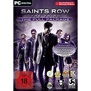 Saints Row: The Third – The Full Package [PC Steam Code]