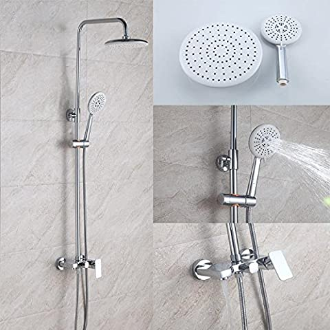 MDRW-Stylish shower faucetsNew bathroom, solid brass shower, lifting shower set, flat third, water-saving showerhead, corrosion-resistant shower