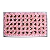 Tipo: Girasol  Material: flor de jabón  Cantidad: 50pcs / set  Diámetro de la flor: 8 cm  Modelo: flores artificiales para boda