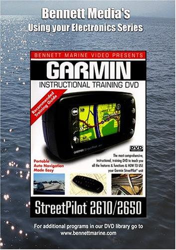 GARMIN StreetPilot 2610/2650 GPS INSTRUCTIONAL DVD (Gps 2610)