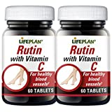 Lifeplan Rutin with Vitamin C 2 x 60 Tablets by Lifeplan