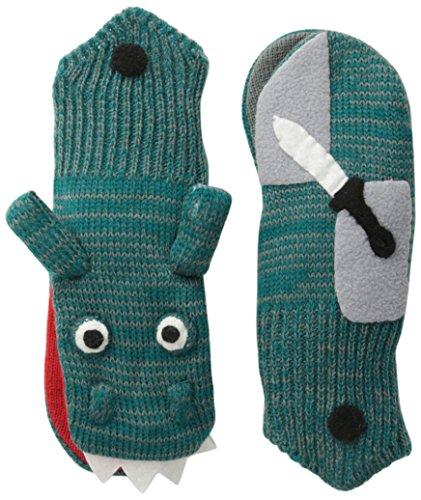 Kidorable Original Gebrandmarkt Ritter Handschuhe für Mädchen, Jungen, Kinder - groß (Lange Logo Schal Stricken)