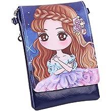 d68051202319 Sac à Bandoulière Fille Enfant Sac a Main en PU Porte-monnaie Style  Princesse Manga