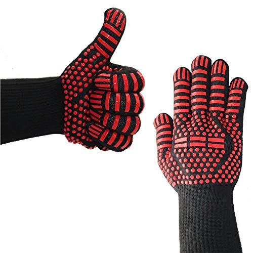 Extreme Hitzebeständige Handschuhe Premium-Insulated Durable Feuerbeständige Küche Mitts Entwickelt Für Kochen Grillen Braten Backen Armee Mitt