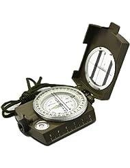 Militär Marschkompass, Earto Kompass mit Tasche, für Wanderung, Camping, Klettern, Rad fahren