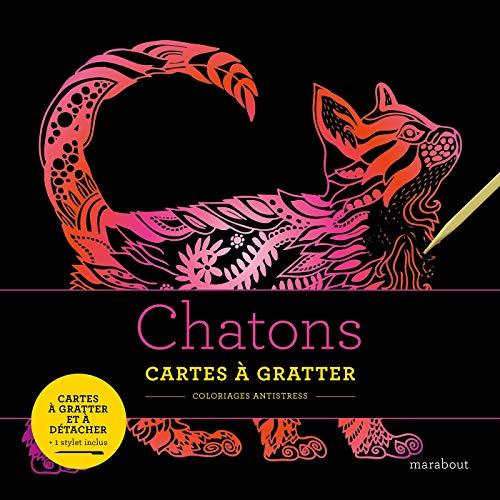 Livres à gratter : Chatons par Marabout
