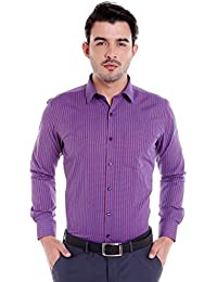 Donear NXG Mens Formal Shirt_SHIRT-1380-RED