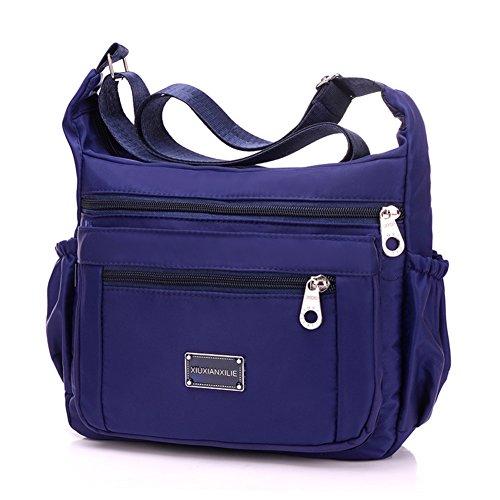 Borse di nylon/borsa a tracolla Incline/panno impermeabile grande capacità/Oxford leisure monospalla diagonale package-F F