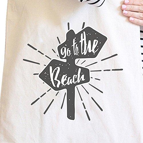 365 Printing inc , Borsa da spiaggia  Donna Enjoy The Sunshine Misura unica Go To The Beach