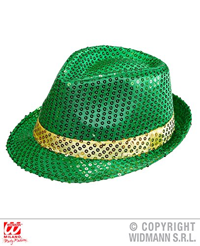 FEDORA HUT - ST. PATRICK`S DAY -, Irischer Feiertag Irland (Kostüme Iren)