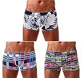 Arjen Kroos Homme Boxer Caleçon sous-vêtement Sexy Trunks Shorts Shorty pour Homme Respirant Doux Taille Basse Caleçons de Fantaisie