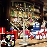 Yimai Weihnachts-LED-Lichterbaum, Bonsai-Licht, kleine Schreibtischlampe für Dekoration, Zuhause, Festival, Hochzeit, Party, drinnen und draußen, Weihnachts- und Geburtstagsgeschenk, Dekorationslicht