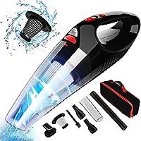 RIKIN Aspirateur à Main sans Fil Rechargeable Aspirateur Portable Puissant 7000Pa 120w Filtre HEPA pour Maison Voiture Bureau Table Canapé