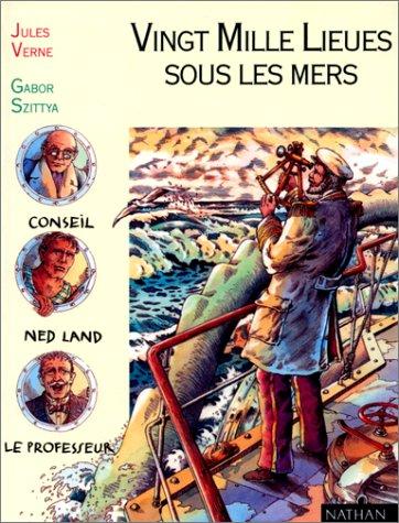 Vingt Mille Lieues sous les mers (texte intégral) par Jules Verne (Relié)