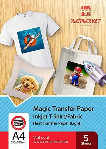 Hierro papel transferencia tela ligera Magic Paper