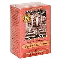Numi Tea Organic Spiced Rooibos Herbal Tessan Ruby Chai Tea -- 6 per case.