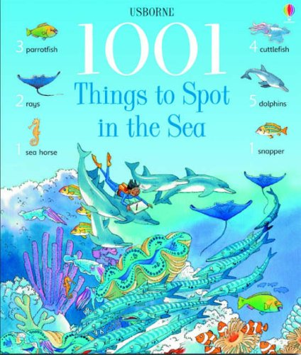 1001 Things to Spot in the Sea (1001 Things to Spot) par Katie Daynes