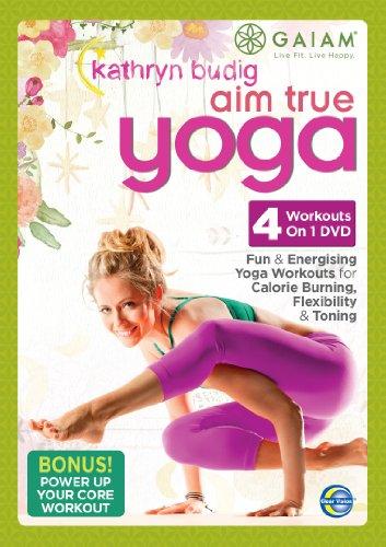 gaiam-kathryn-budig-aim-true-yoga-edizione-regno-unito-import-anglais