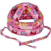Eizur Unisex Bebè Cappello Protezione della Testa Casco Traspirante Bambini Sicurezza Cappello Resistenza goccia Berretto Copricapo protettivo Taglia S - Blu