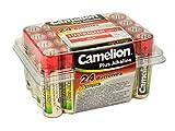Camelion 11102406 Plus Alkaline Batterie (LR6, Mignon, AA, 24er)