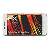 atFolix Schutzfolie kompatibel mit Allview X4 Soul Style Bildschirmschutzfolie, HD-Entspiegelung FX Folie (3X)