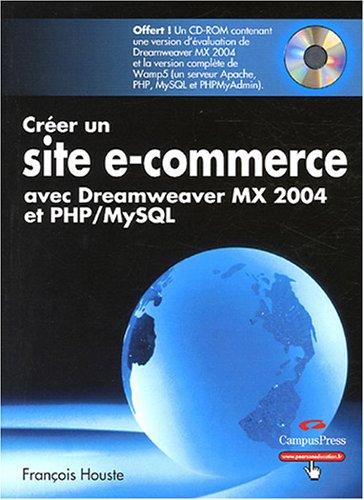 crer-un-site-e-commerce-avec-dreamweaver-mx-2004-et-php-mysql-1cdrom