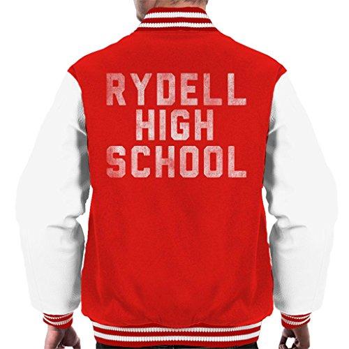 Cloud City 7 Grease Rydell High School Men's Varsity Jacket High-school-varsity-jacken
