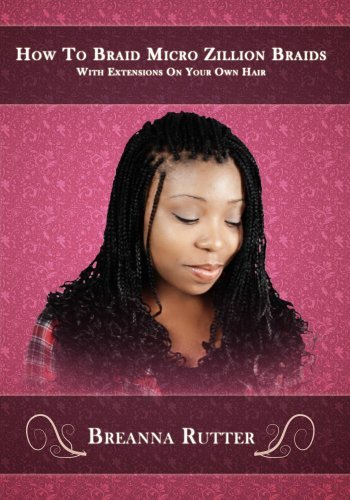 How To Braid Micro Zillion Braids With Extensions On Your Own Hair by Jared Rutter (Braid Boat)