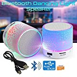 #10: Xiaomi Redmi Note 2Compatible Latest Wireless Rechargeable Bluetooth Speaker With Led S10 With Handsfree Calling Feature, Fm Radio & Sd Card Slot Disco Lights - USB Plug & Play - MP3 Player - Car Audio Player (Assorted Colour) by Mobizu